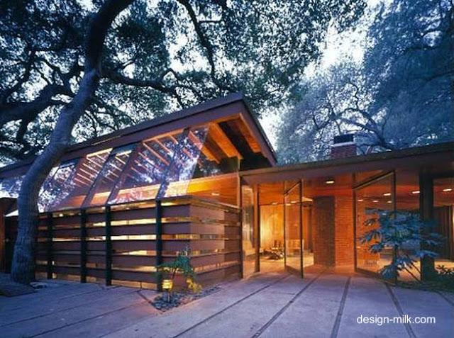 Residencia Schaffer en Estados Unidos obra de John Lautner