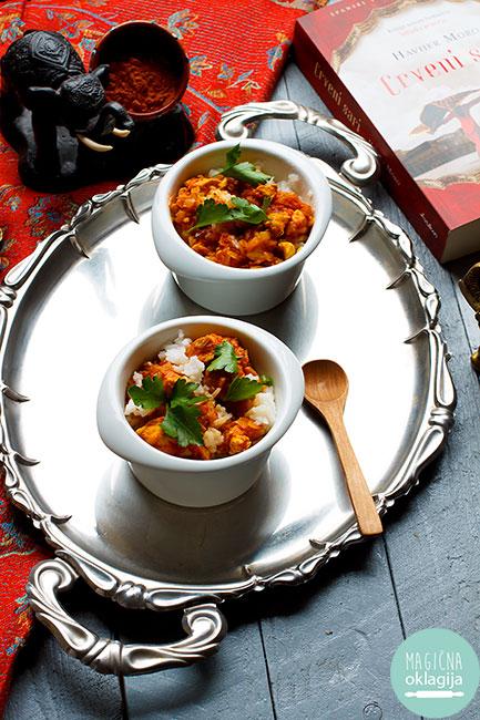 Recept za Pileći kari - magicnaoklagija.blogspot.com
