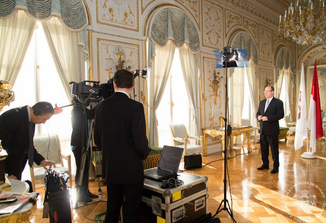 Prince Albert of Monaco Message