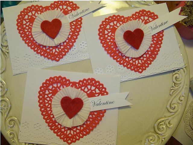 TARJETAS; SAN VALENTIN CARDS