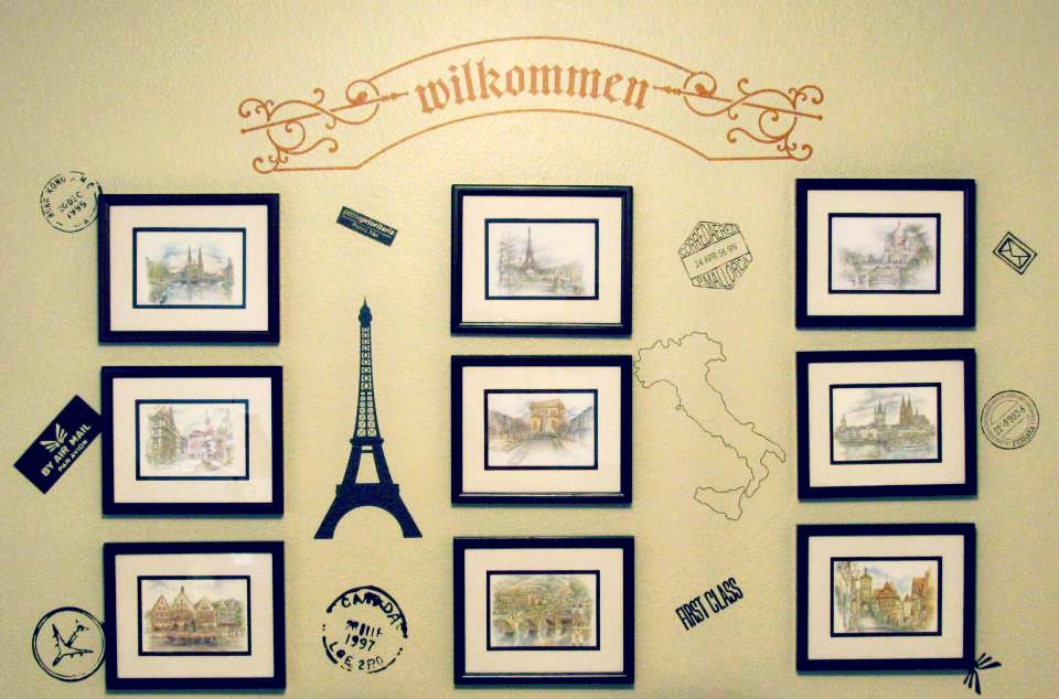 Belvedere Designs: Crazy About Frames!
