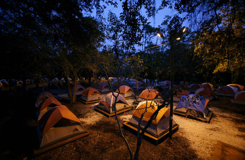 The City of St. Petersburg decided that the homeless were to be treated like the plague in that they urinated in public bothered people by panhandling ... & Tent City Urbanism: 2012