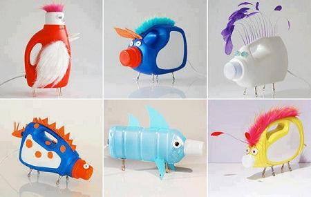 otros productos, conviértelos en divertidos juguetes para tus hijos