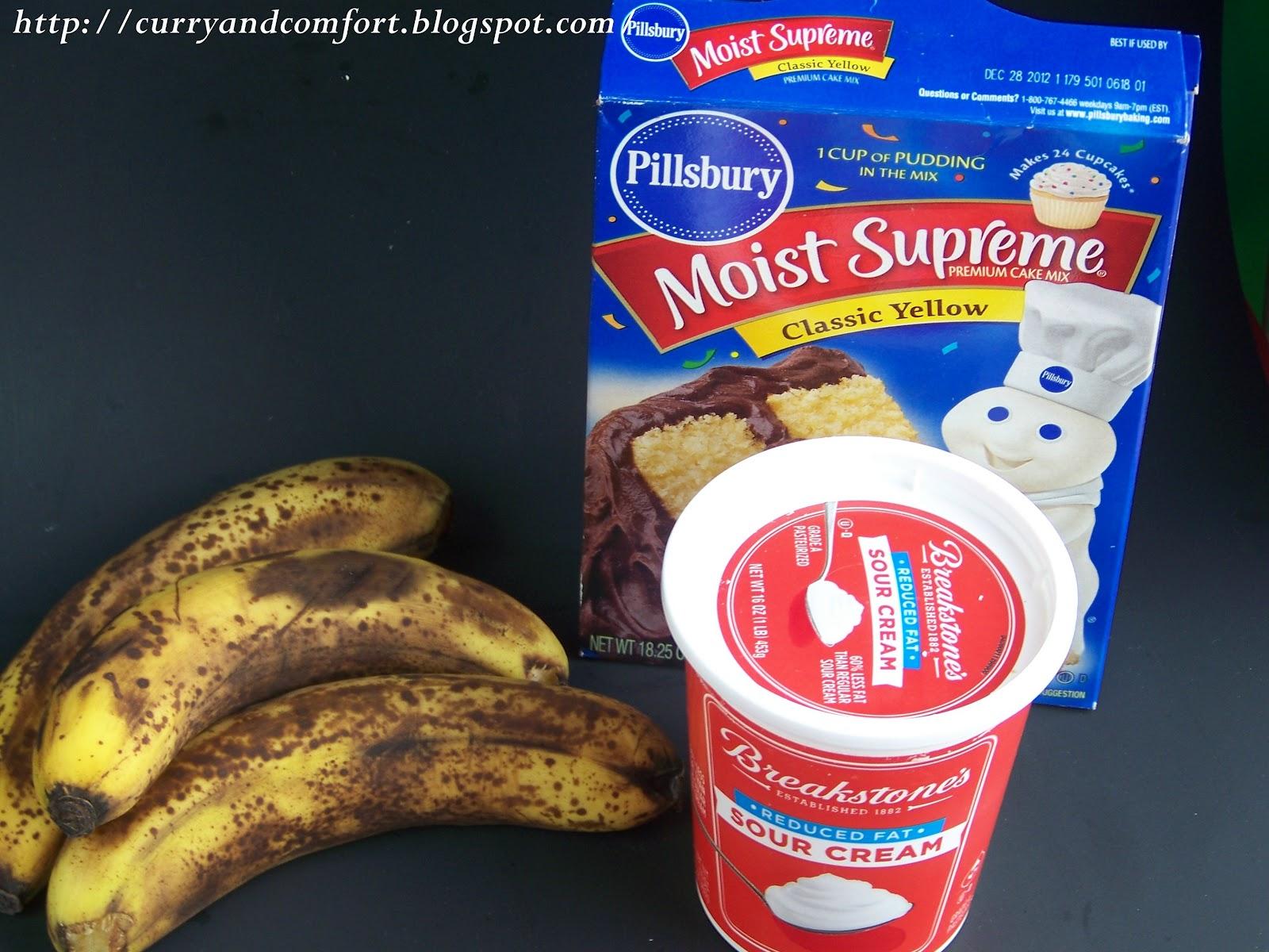 Recipes Using Cake Mix And Bananas