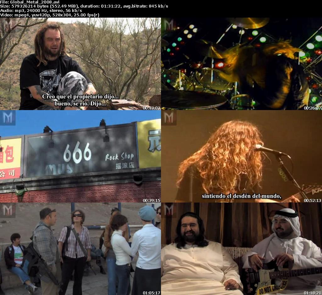 Global Metal (2008) con subtitulos  - 1 link