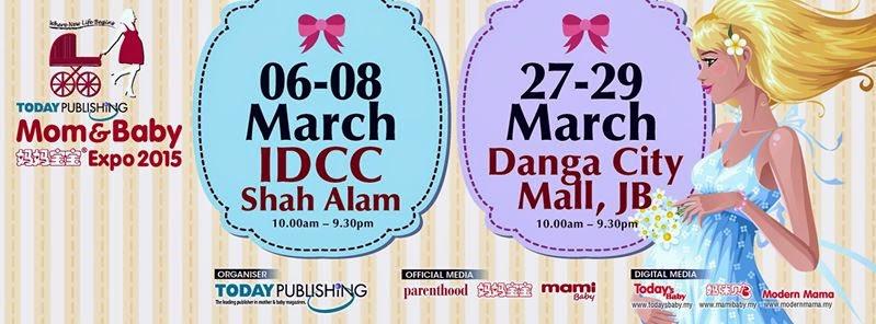 Mom And Baby Expo Di IDCC Shah Alam 6 Hingga 8 Mac 2015