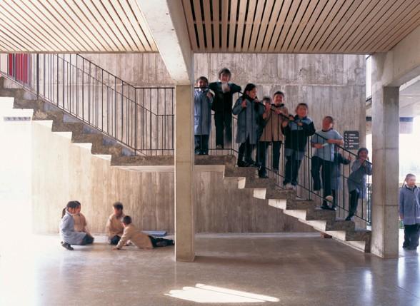High School Interior STAIR Designs