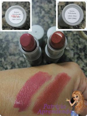 Resenha Batons Avon Color Trend Hidratante Rosa Retrô e Cobre Ritmo