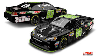 Earnhardt Jr's Batman Scheme