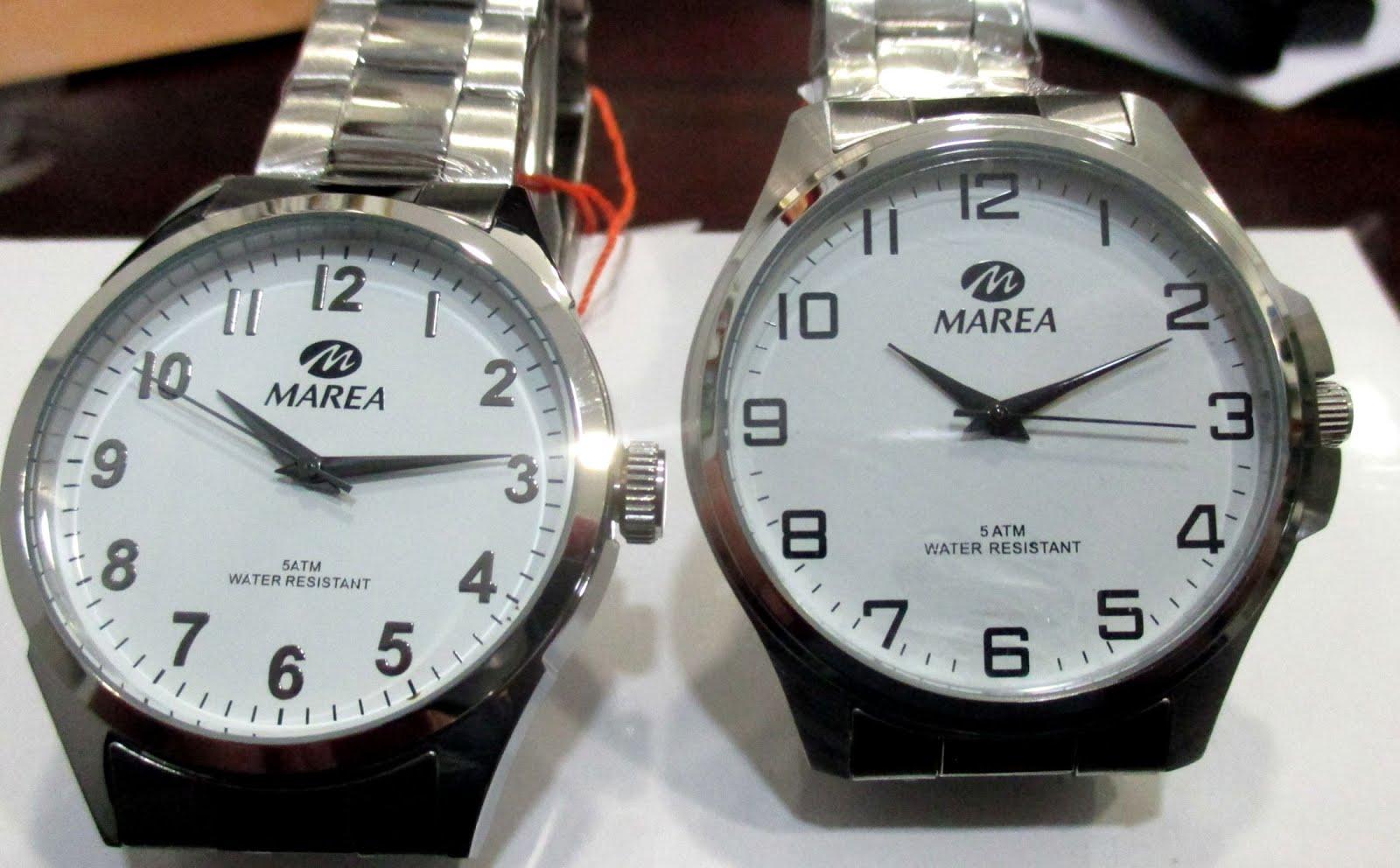 Relojes Marea, caballero, números grandes