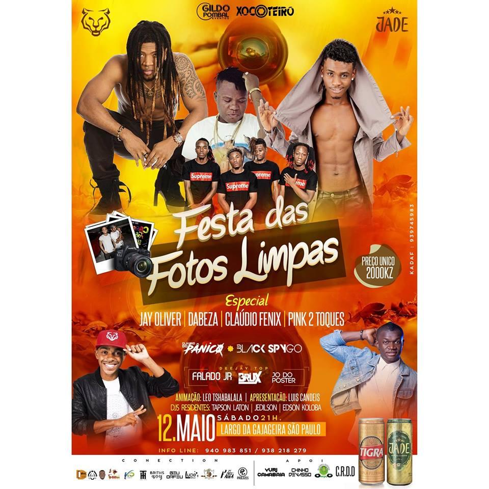 Festa das Fotos Limpas - 12 de MAIO