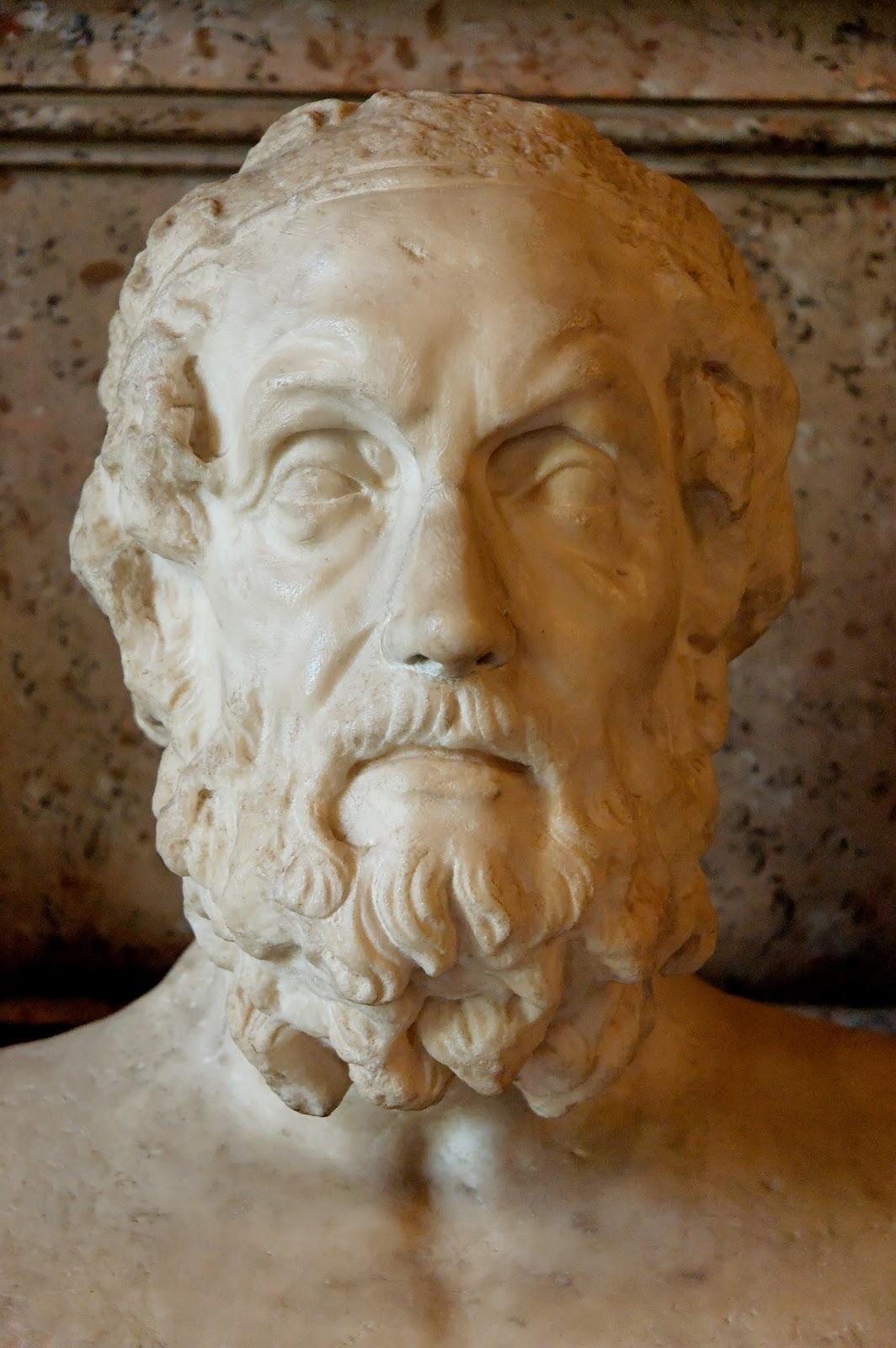 ... de la Historia XVIII: Homero, el legendario primer poeta griego
