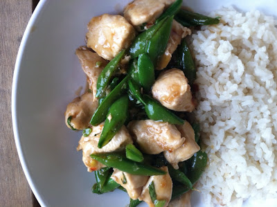 In an effort to declutter our very tiny townhouse I Spicy Basil Chicken