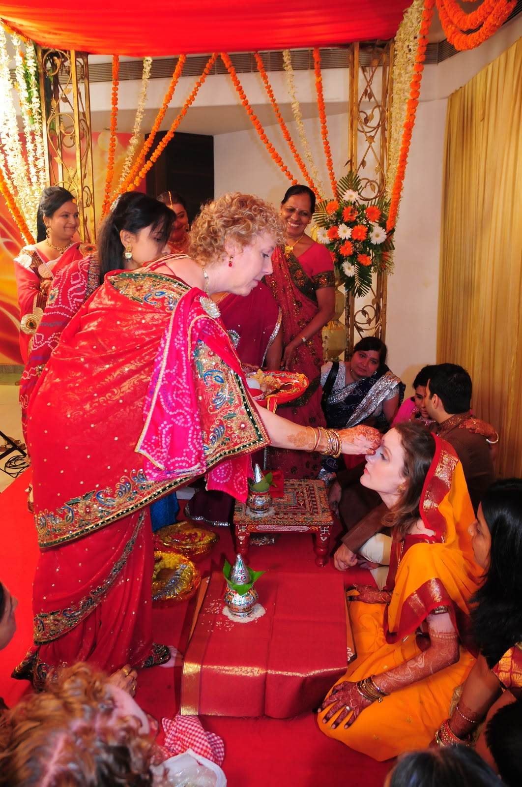 Yes And Now India Wedding Ceremony Morning Pooja