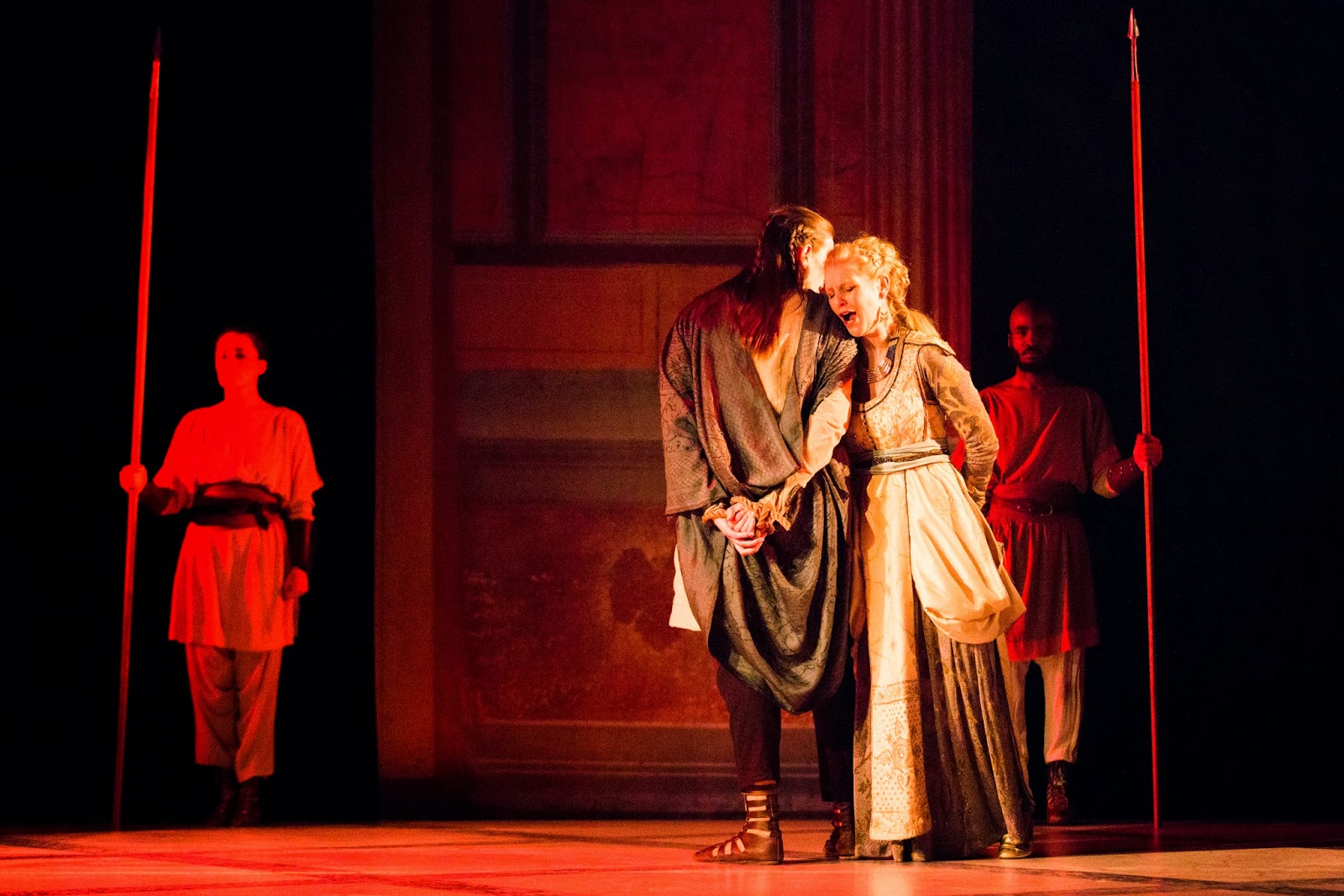 Ellie Laugharne and Erica Eloff  in Adriano in Siria - Classical Opera