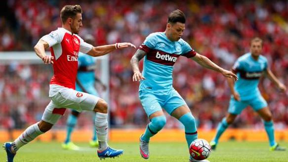 Cuplikan gol kekalahan Arsenal 0-2 West Ham, EPL