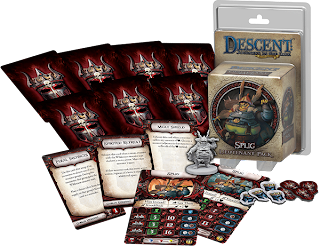 board game news descent lieutenants miniatures