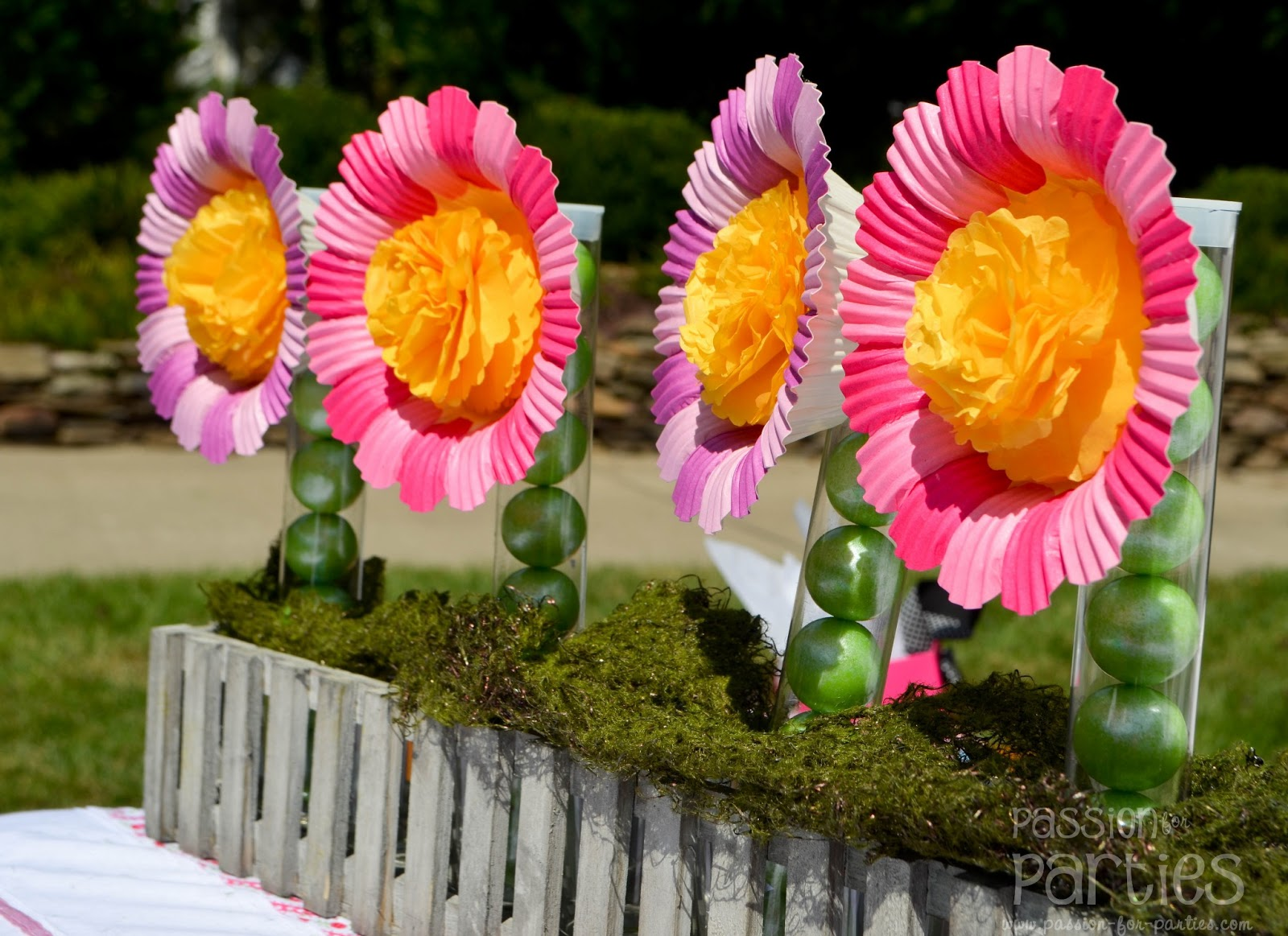 diy birthday decoration ideas flowers - 28 images - diy flower garland out of coffee filter ...