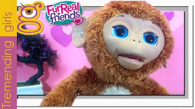 Moni Monita en español sabes todo lo que hace ? - FurReal Friends juguetes - Anna Banana