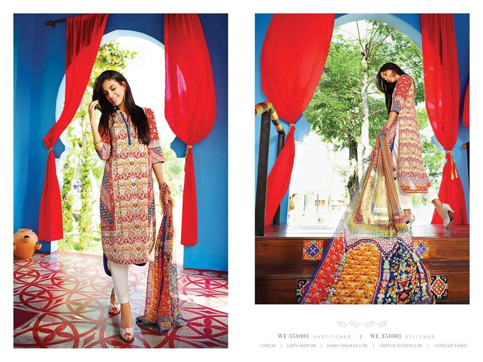 New Zeen Summer Lawn Collection 2015