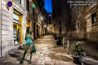 Composición fotográfica - Plaça Sant Jaume