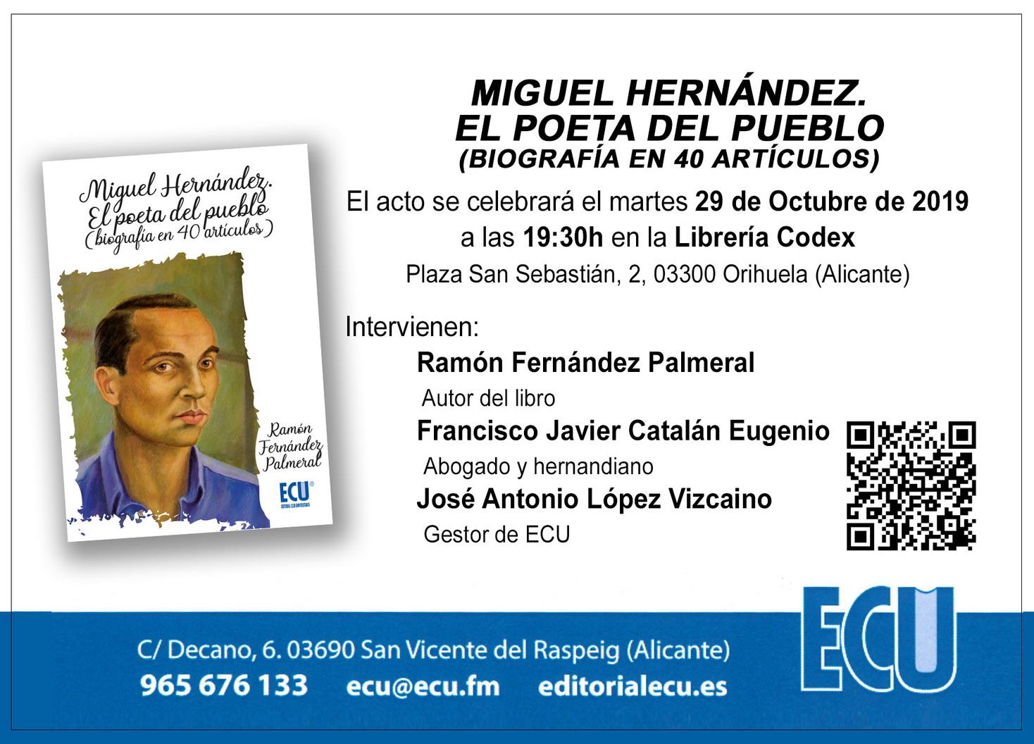 Invitación para Orihuela