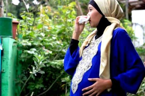 Ibu Hamil Terserang Flu. Medical Line