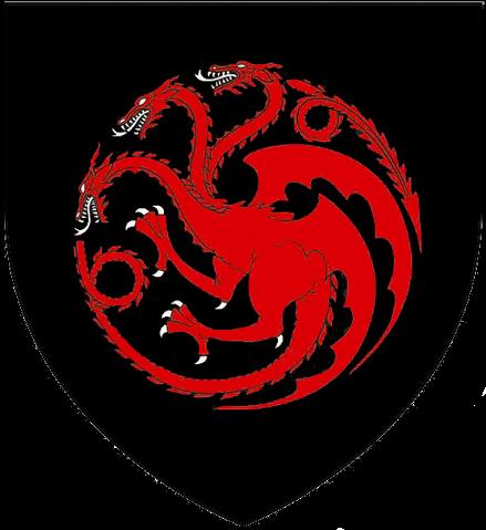 Reunión del Consejo Privado Real Casa_Targaryen_estandarte