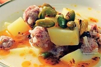 Köfteli patates çorbası Tarifi Kolay Yapımı