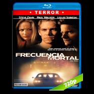Frecuencia mortal (2001) BRRip 720p Audio Dual Latino-Ingles