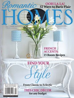 Romantic Homes April 2013