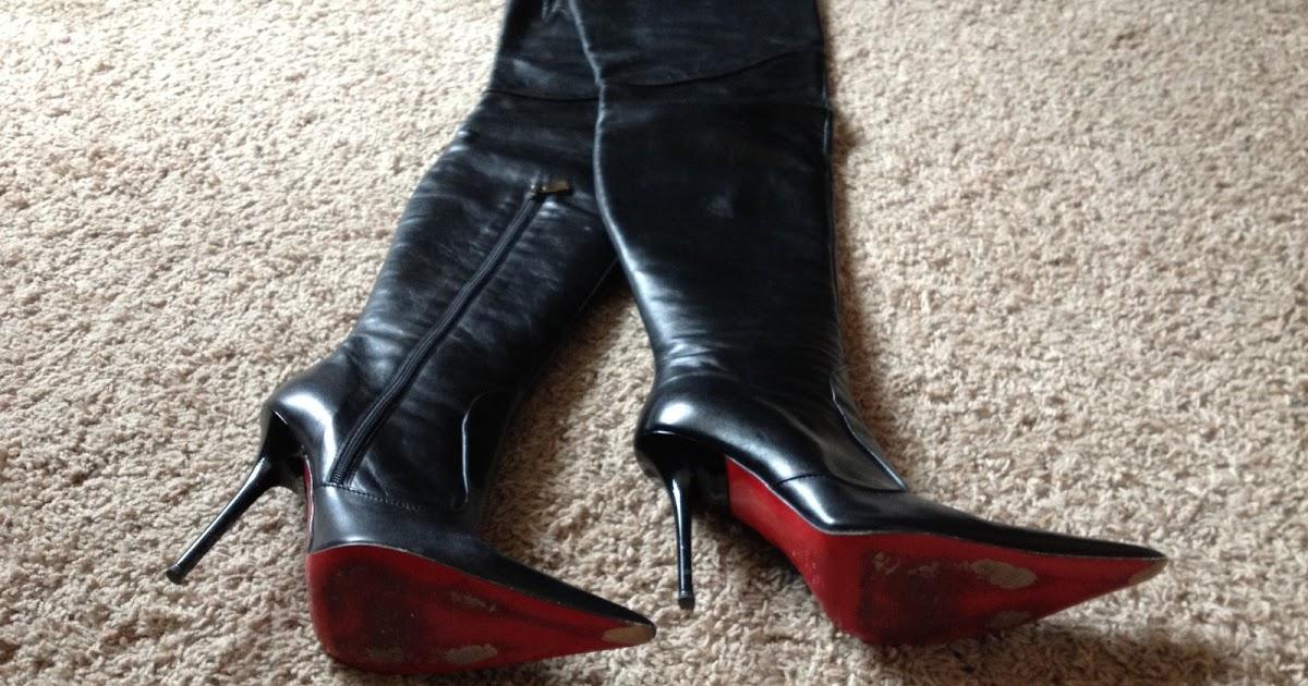 ebay leather renzi italian thigh boots high price and