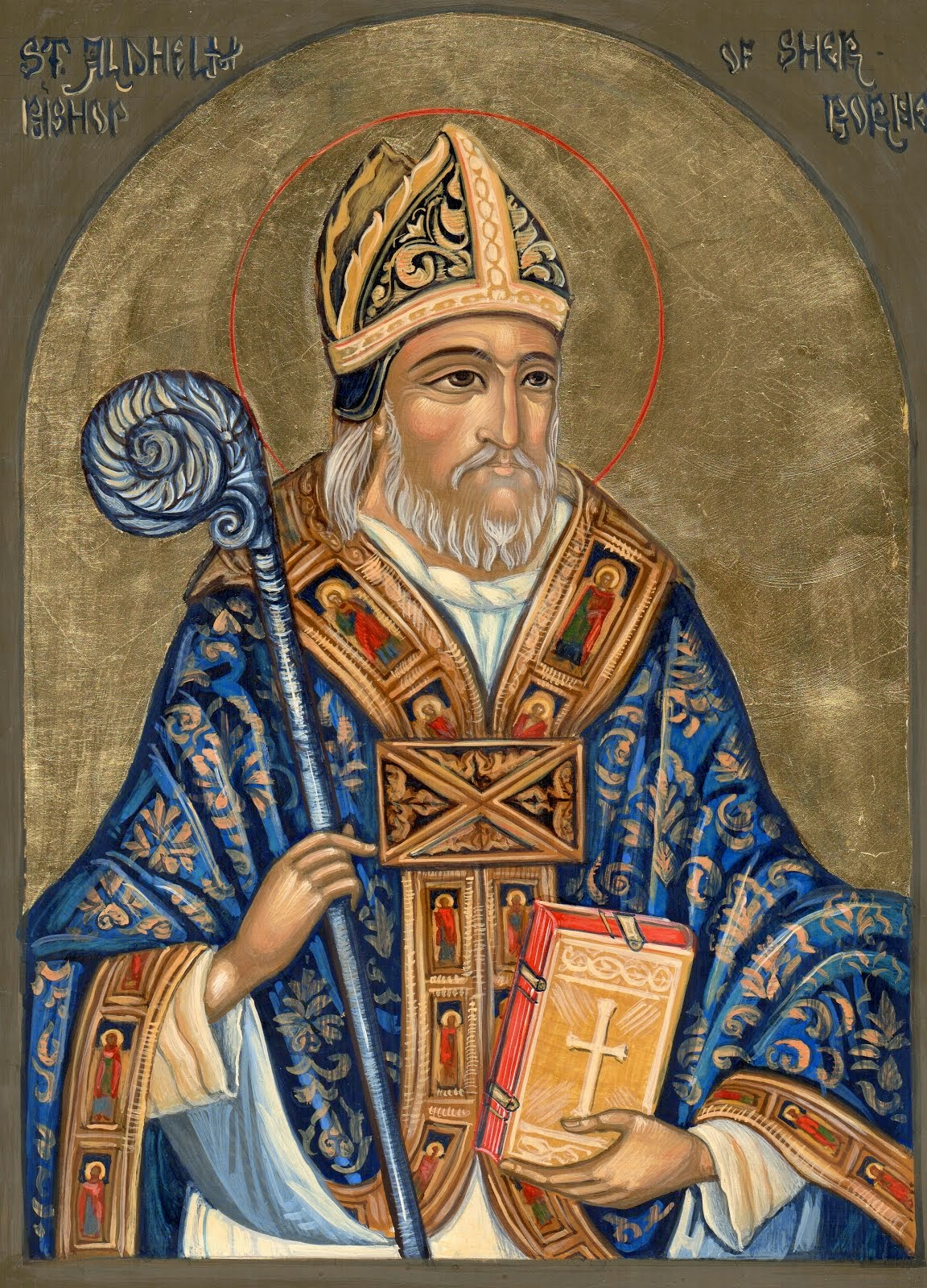 A new Icon of Saint Aldhelm