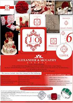 ALEXANDER &amp; McCATHY EVENTS
