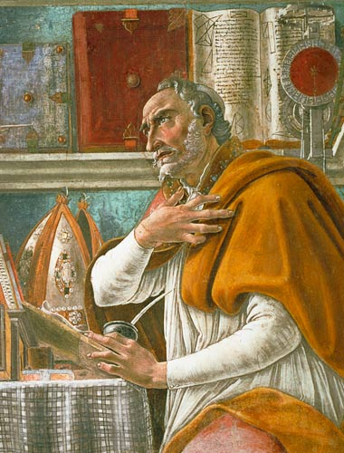 augustine and his thoughts on god Augustine's confessions demonstrate his understanding of time and eternity augustine's memories of his thoughts of augustine's understanding of time.