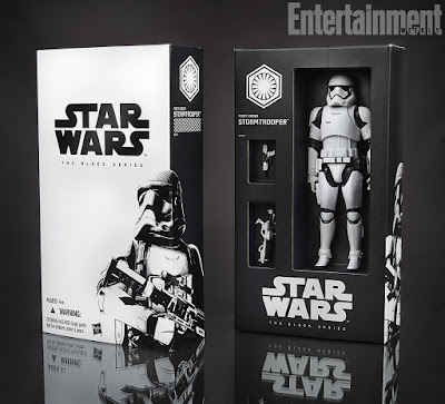 "San Diego Comic-Con 2015 Exclusive Star Wars Episode VII - The Force Awakens ""First Order Stormtrooper"" Star Wars Black Series Action Figure"