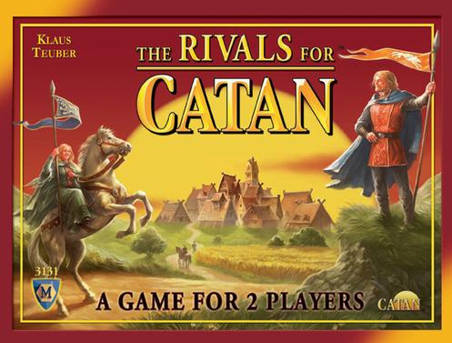 MFG3131, The Rivals For Catan Card Game