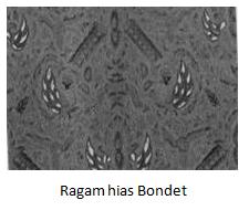 Motif Batik Bondet