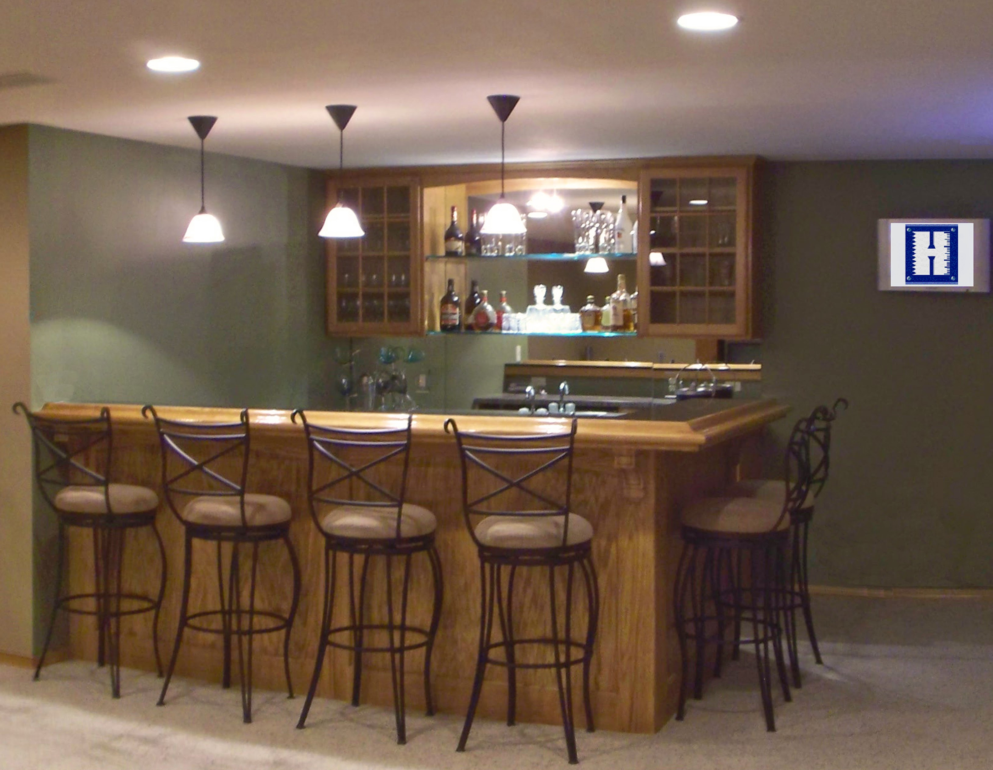 Basement Bar Remodel