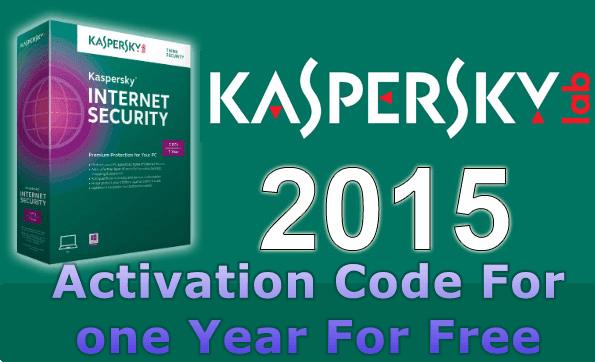 kaspersky internet security 2015 activation code for free for one year