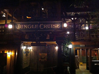 Disneyland Adventureland After Hours Closed night Jungle Cruise