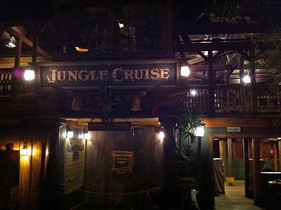 Disneyland Adventureland After Hours Closed night Jungle Cruise