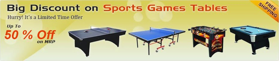 Table Tennis Table, TT Table Accessories Manufacturer, Buy Online India