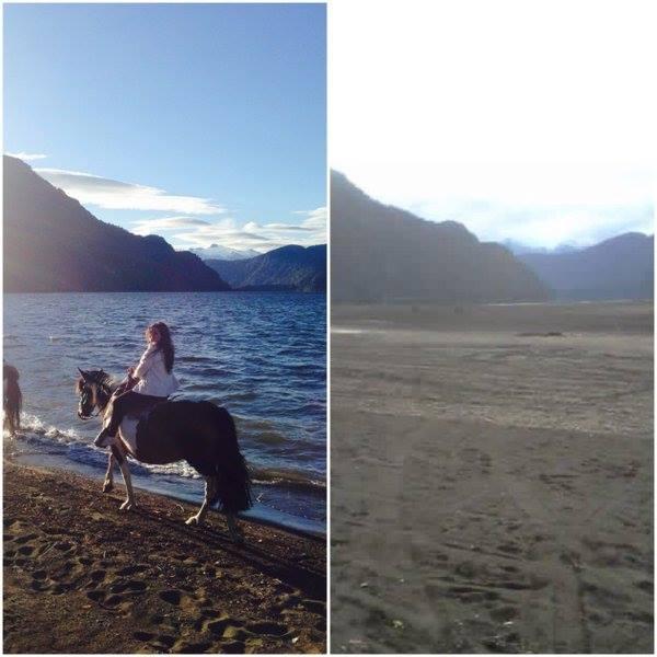 Patagonie, Chili : Lago Riesco disparaît mystérieusement pendant la nuit – Les extraterrestres ont