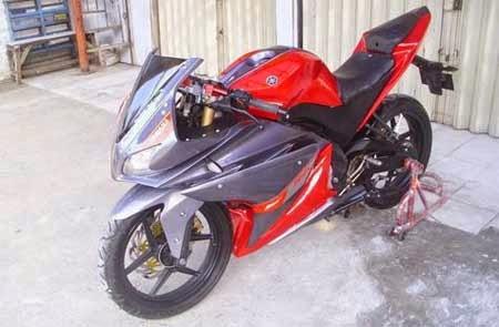modifikasi Vixion ala Yamaha R125