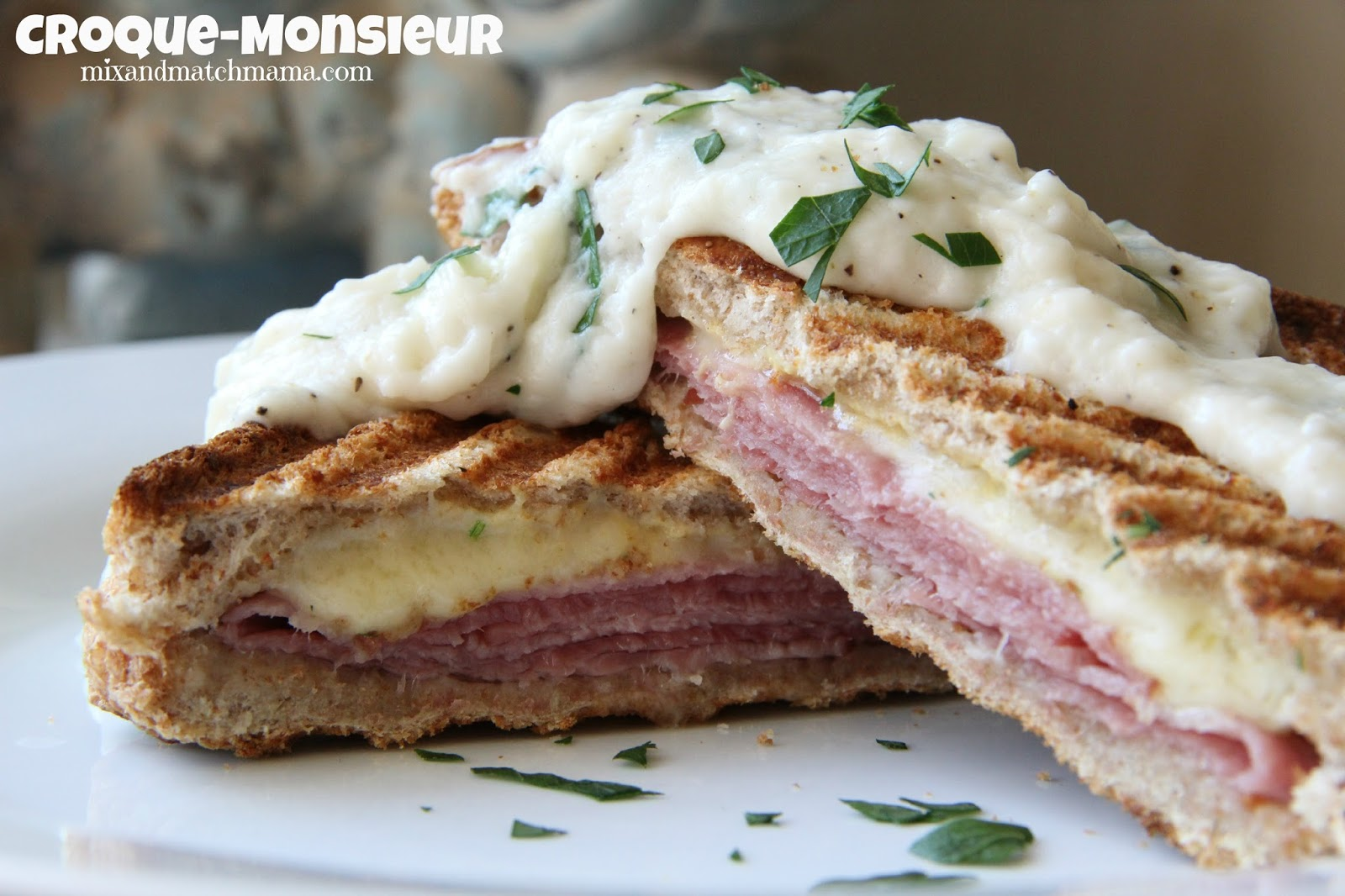 ham and cheese sandwich croque monsieur le croque monsieur toasted ham ...