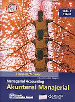 toko buku rahma: buku MANAGERIAL ACCOUNTING (AKUNTANSI MANAJERIAL) Buku 2, pengarang hansen, penerbit salemba empat