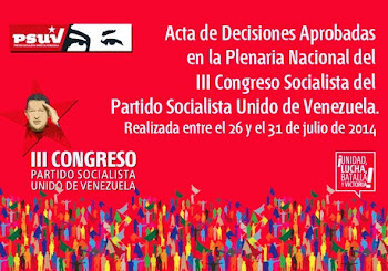 Acta de Decisiones * III Congreso