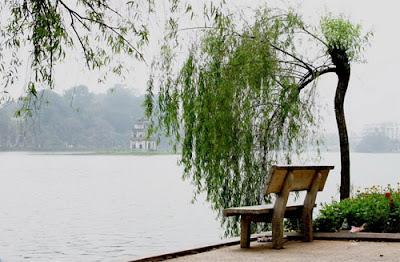 Lake of the Returned Sword in Vietnam