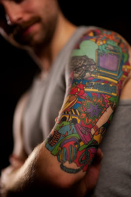 Half Sleeve Tattoo Design Picture Gallery - Half Sleeve Tattoo Ideas